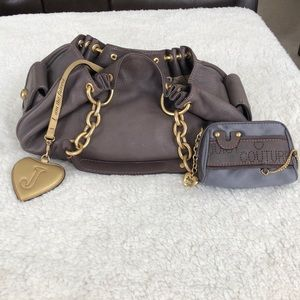 Authentic Juicy Couture Plum Hobo Bag